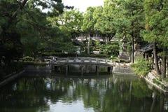 Sumiyoshi Shrine. Osaka's most famous shrine by far is Sumiyoshitaisha (Sumiyoshi Grand Shrine), the headquarters of some 2000 Sumiyoshi shrines throughout Japan Royalty Free Stock Photos