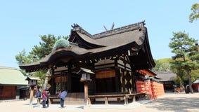 Sumiyoshi Taisha,大阪,日本 库存图片