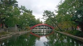 Sumiyoshi Taisha stockfotografie