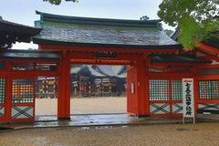 Sumiyoshi Taisha Shrine, Osaka, Japan Royalty Free Stock Image