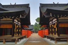 Sumiyoshi Taisha Shrine, Osaka, Japan Stock Photography
