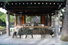 Sumiyoshi Taisha Shrine, Osaka royalty free stock photography