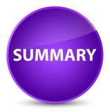 Summary elegant purple round button Royalty Free Stock Image