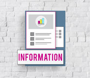 Summary Results Research Report Progress Concept Royalty Free Stock Photo