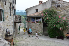 Summen in Kroatien Stockfotos