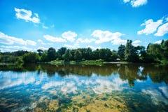 Summer湖 库存图片