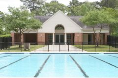 Almost Summer. Empty poolhouse royalty free stock photo