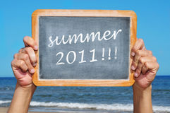 Summer 2011 Royalty Free Stock Photography
