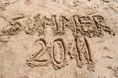 Summer 2011 Stock Image