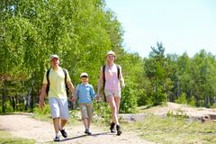 At summer Royalty Free Stock Photo