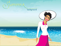 Summer-1 royaltyfri illustrationer