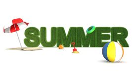 Summer in 3D Stock Photography