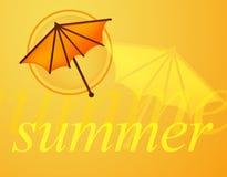 Summer. Background Vector Illustration