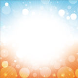 Summer abstract background 1. Summer abstract of sea sun beach blue sky background illustration Royalty Free Stock Images