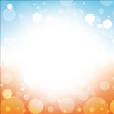 Summer abstract background. Summer abstract of sea sun beach blue sky background illustration Stock Image