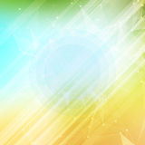 Summer abstract background. Summer template poster Stock Images
