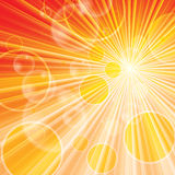 Summer abstract vector background Stock Photo