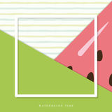 Summer abstract watermelon background. Stock Image