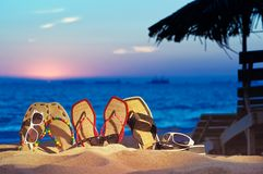 Summer Accessories Stock Images