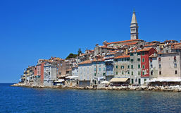 Summer on the Adriatic, Rovinj. Summer view by the Adriatic, Rovinj, Istria, Croatia Stock Image