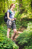 Summer Adventure - Hiking Royalty Free Stock Image