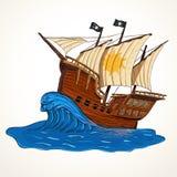 Summer adventures ship Stock Photo