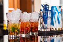 Summer alcoholic refreshmen Royalty Free Stock Photography