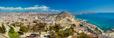 Summer In Alicante, Spain Stock Photo