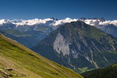 Summer alpine view Stock Images