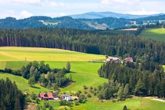 Summer Alps Landscape Stock Photos