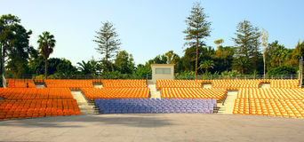 Summer amphitheater Stock Image