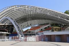 Summer amphitheatre, concert hall, Vitebsk. royalty free stock photography
