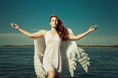 Summer angel Royalty Free Stock Photos