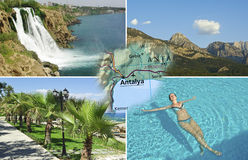Summer in Antalya, Turkey Royalty Free Stock Images