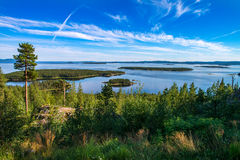 Summer in the Arctic. Beautiful views Kandalakshsky Bay in the White sea Stock Photo