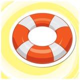 Summer Art 12 - Floater. Vector illustration of a swim float Stock Photography