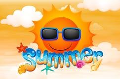 A summer artwork Royalty Free Stock Image