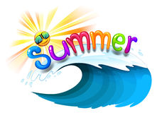 Summer artwork Royalty Free Stock Photo