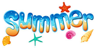Summer artwork Royalty Free Stock Photos