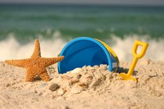 Summer At The Beach Royalty Free Stock Photos