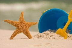 Summer At The Beach Royalty Free Stock Images