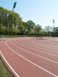 Summer athletic stadium Stock Image