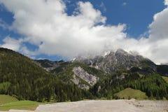 Summer Austrian Alps Stock Image
