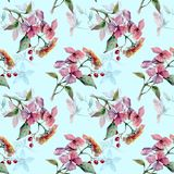 Summer and autumn pattern. For textile Royalty Free Illustration