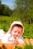 Summer baby Stock Images