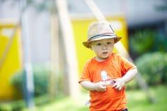 Summer baby boy Stock Photo