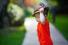 Summer baby boy Royalty Free Stock Photography