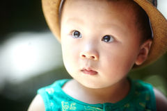 Summer baby boy Stock Image