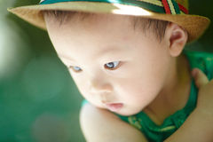 Summer baby boy Stock Photography