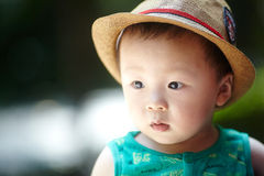 Summer baby boy Royalty Free Stock Photos